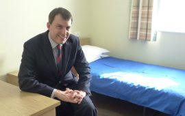 John Glen MP in JRSLA
