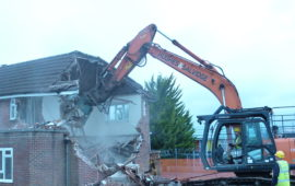 Bulford SFA demolition