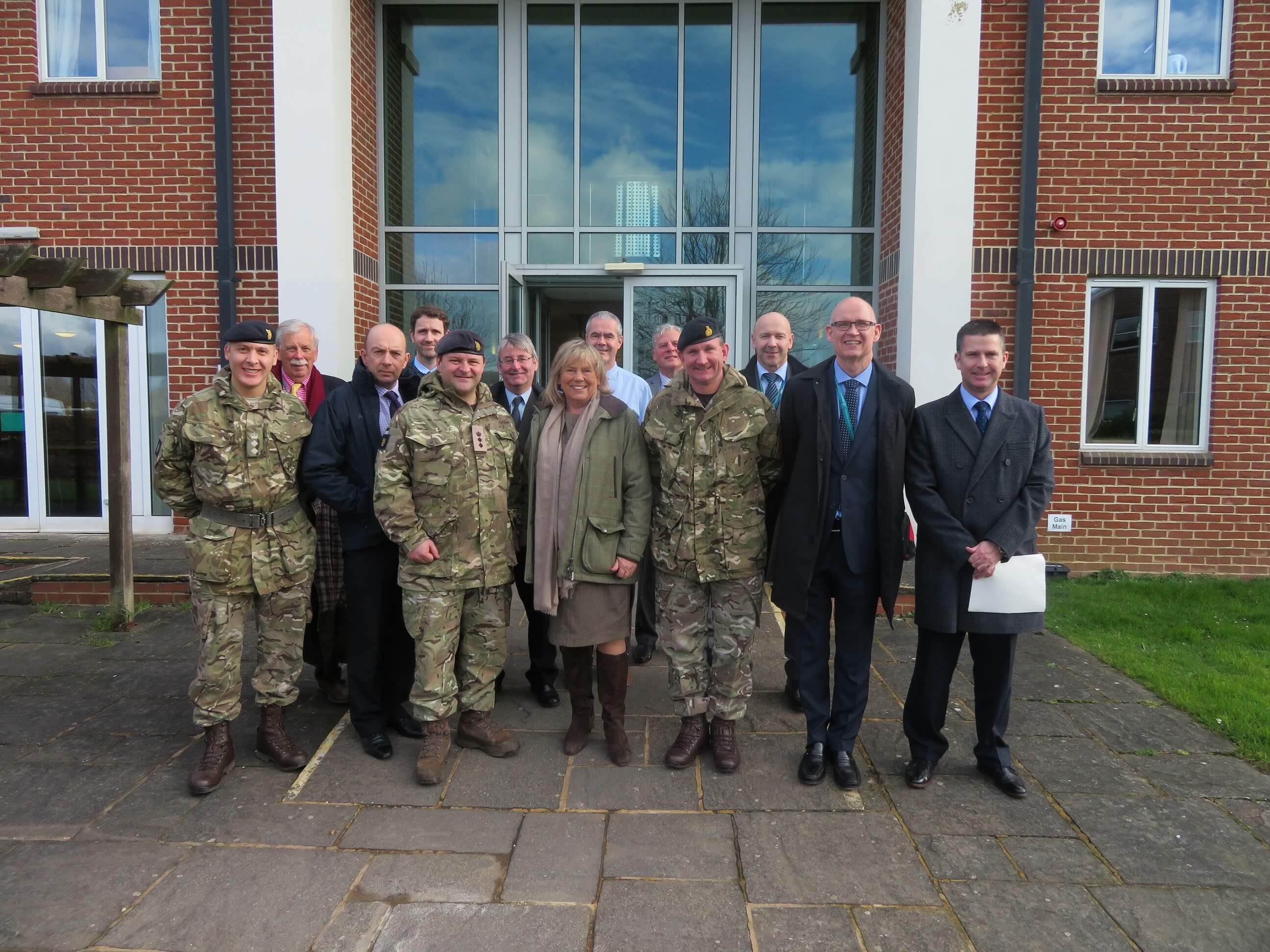 Wiltshire Council visit - group