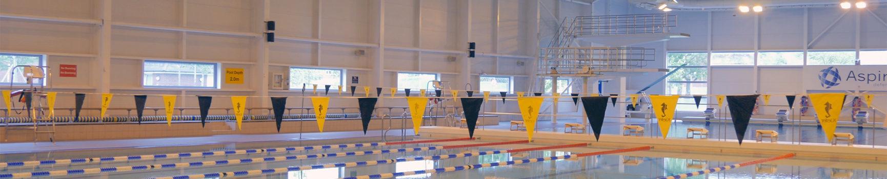Pool timetable aspire defence services limited for Aldershot swimming pool burlington