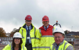 Devizes MP visits Larkhill (Oct 2017)