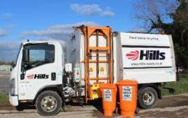 Hills Bin Truck