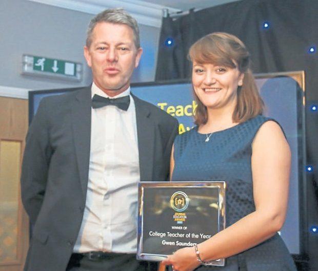 SJ Education Awards winner