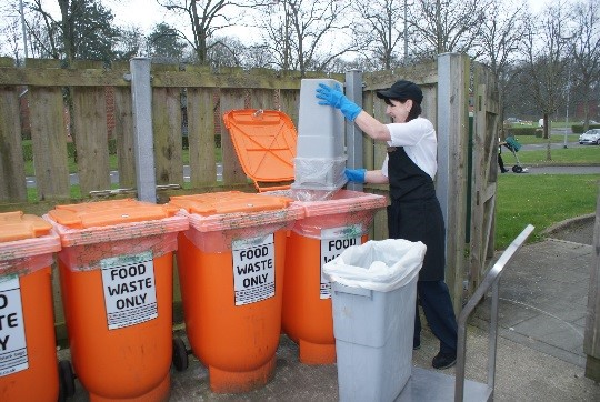 Sorting food waste