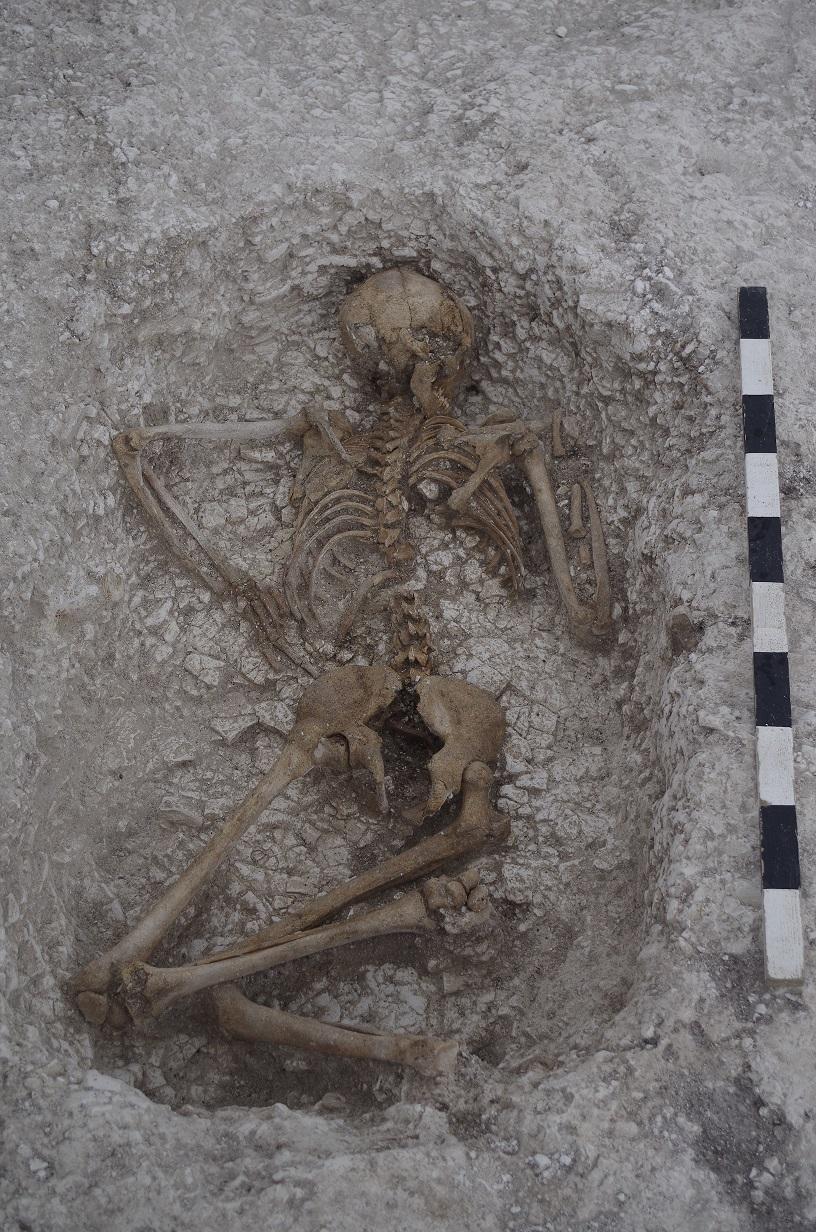Prone inhumation Larkhill