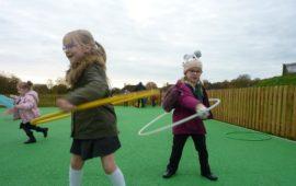 Larkhill play area children
