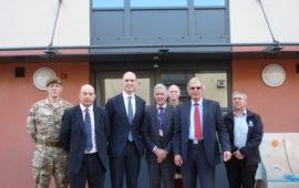 Aldershot MP visit